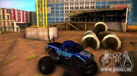 Monster Truck Blue Thunder für GTA San Andreas