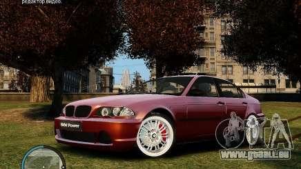 BMW 320i E46 v1.0 pour GTA 4