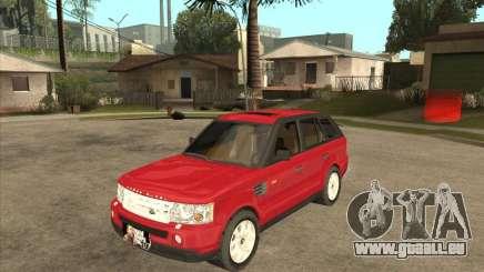 Range Rover Sport 2007 pour GTA San Andreas