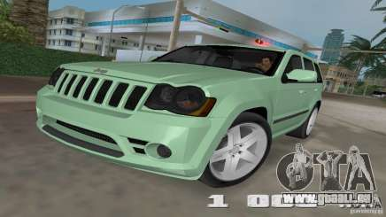 Jeep Grand Cherokee pour GTA Vice City