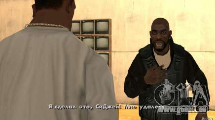 Nouvelle fumée pour GTA San Andreas