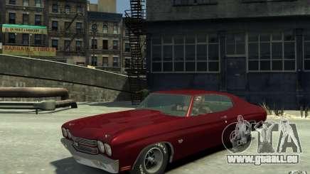 Chevrolet Chevelle SS 454 v2 pour GTA 4