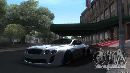 Bentley Continental Super Sport Tuning für GTA San Andreas