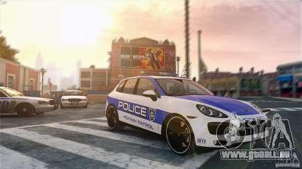 Porsche Cayenne Cop für GTA 4