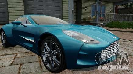 Aston Martin One-77 2012 pour GTA 4