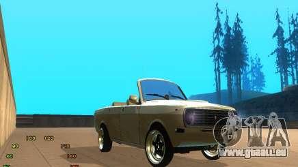 Gaz Volga 2410 el Cabrio pour GTA San Andreas