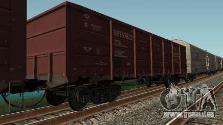 Société cargo wagon ouvert pour GTA San Andreas