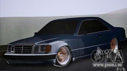 Mercedes-Benz W124 Low Gangster pour GTA San Andreas