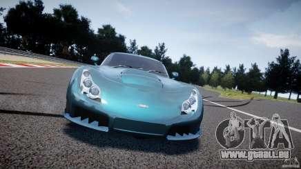 TVR Sagaris pour GTA 4