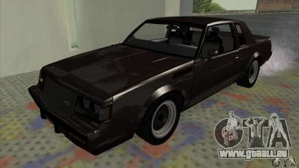 Buick Regal GNX 1987 für GTA San Andreas