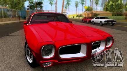 Pontiac Firebird 1970 für GTA San Andreas