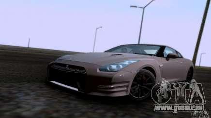 Nissan GTR R35 Tuneable pour GTA San Andreas