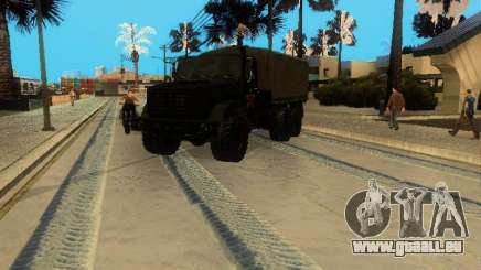 Perméabilité ZIL 4334 supérieur pour GTA San Andreas