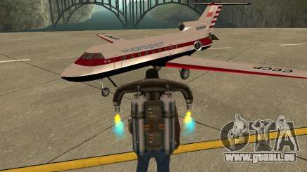 L'avion Yak-40 pour GTA San Andreas