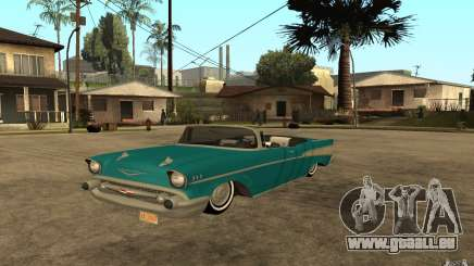 Chevrolet Bel Air 1956 Convertible pour GTA San Andreas