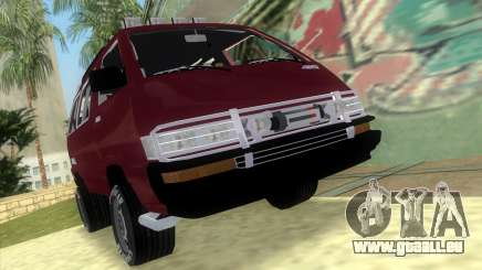Toyota Town Ace-Tuning pour GTA Vice City