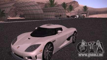 Koenigsegg CCX 2006 pour GTA San Andreas
