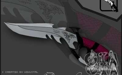 Dragon Lord knife pour GTA San Andreas