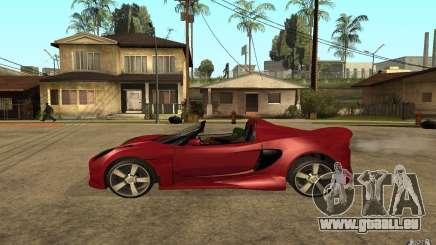 Lotus Elise from NFSMW für GTA San Andreas