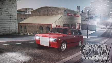 VAZ 2104 Tuning pour GTA 4