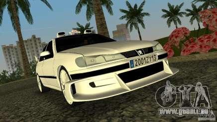 Peugeot 406 Taxi 2 für GTA Vice City