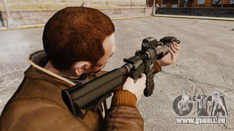 Tactique M4 v3 pour GTA 4 secondes d'écran
