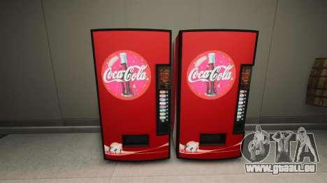 Distributeurs automatiques de Coca-Cola pour GTA 4