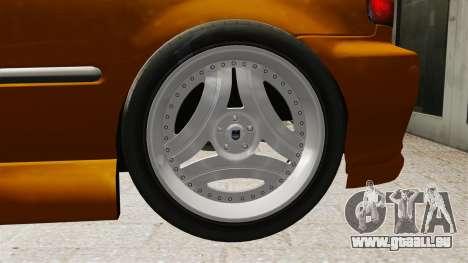 Honda Civic Gtaciyiz 2 pour GTA 4 est une vue de l'intérieur