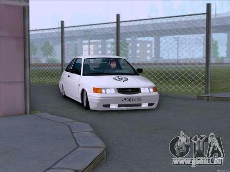 LADA 2112 faible garde pour GTA San Andreas vue arrière