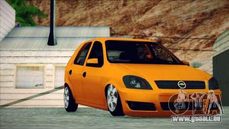 Chevrolet Celta für GTA San Andreas zurück linke Ansicht