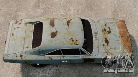 Dodge Charger RT 1969 rouillé v1.1 pour GTA 4 est un droit