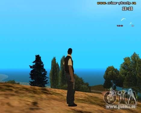 White Chrome Desert Eagle pour GTA San Andreas deuxième écran