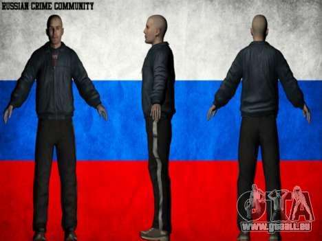 Russian Crime Community pour GTA San Andreas septième écran