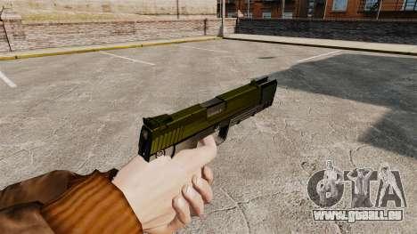 Chargement automatique pistolet USP H & K v5 pour GTA 4 secondes d'écran