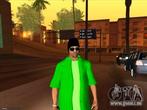 Nouvelle peau Groove st. pour GTA San Andreas