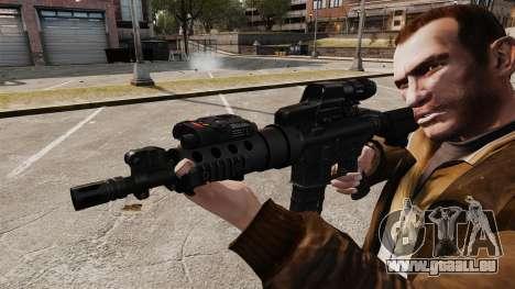 Taktische M4-v2 für GTA 4 weiter Screenshot