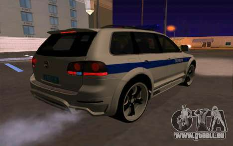 Volkswagen Touareg R50 für GTA San Andreas Innen