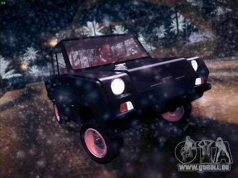 Serpuchowski Awtomobilny Sawod-3D für GTA San Andreas linke Ansicht