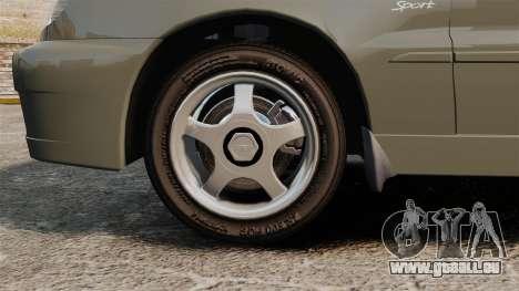 Daewoo Lanos Sport PL 2000 pour GTA 4 Vue arrière