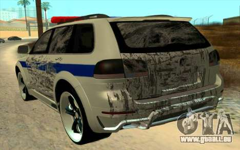 Volkswagen Touareg R50 für GTA San Andreas Seitenansicht