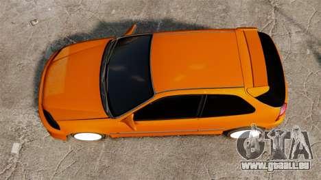Honda Civic Gtaciyiz 2 pour GTA 4 est un droit