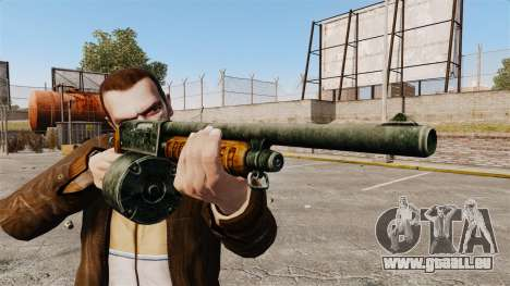 Fusil de chasse de pompe-action pour GTA 4 troisième écran