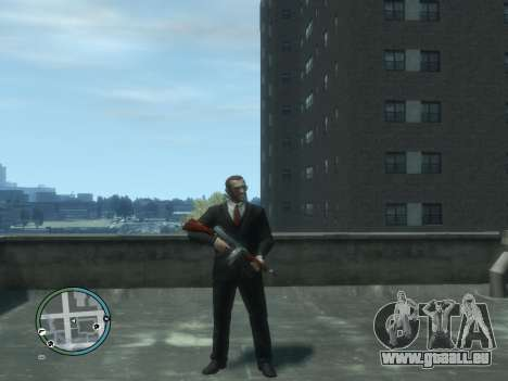 Thompson für GTA 4 fünften Screenshot