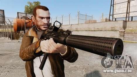 Taktische Uzi v2 für GTA 4 dritte Screenshot