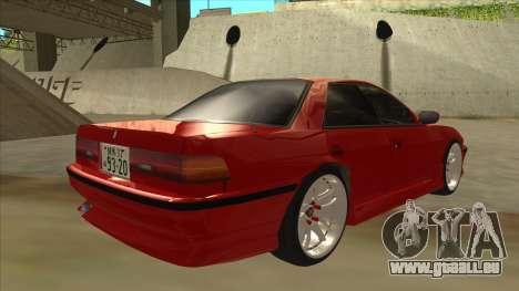 Toyota Chaser JZX81 Touge Style pour GTA San Andreas vue de droite