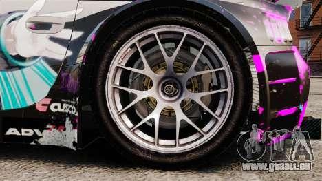 BMW Z4 M Coupe GT Miku pour GTA 4 est une vue de l'intérieur