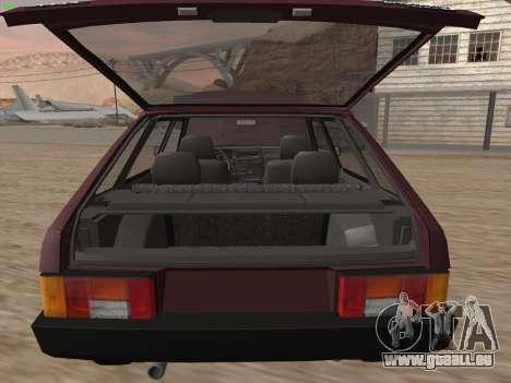 VAZ 2109 pour GTA San Andreas roue
