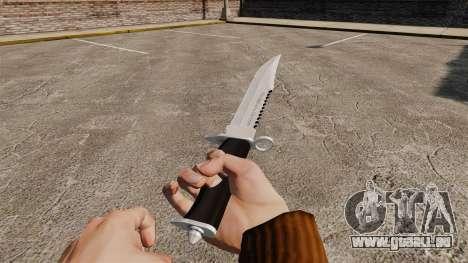 Couteau l'Alabama Slammer, chromé pour GTA 4 secondes d'écran