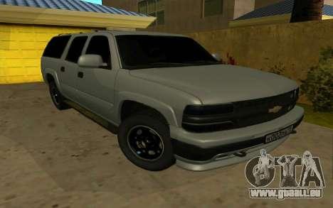 Chevrolet Suburban pour GTA San Andreas