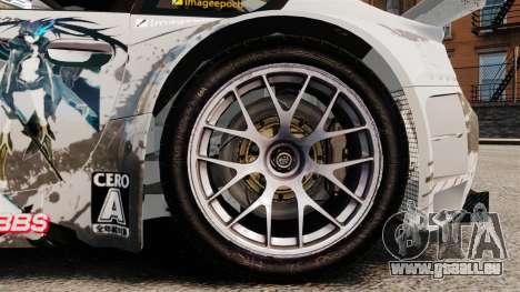BMW Z4 M Coupe GT Black Rock Shooter pour GTA 4 est une vue de l'intérieur